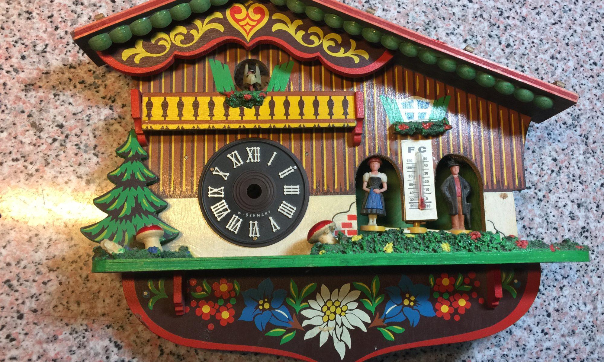 Reloj de cuco alemán